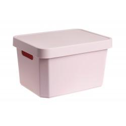 Κουτί αποθήκευσης Cave Box 17L Ροζ 36x27.5x21.5 Cyclops