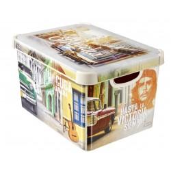Κουτί Αποθήκευσης Stockholm Cuba 22L CURVER