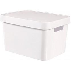 Κουτί αποθήκευσης Infinity 17L Λευκό Curver