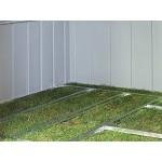 Πλαίσιο δαπέδου μεταλλικής αποθήκης ED108 ARROW Αξεσουάρ μεταλλικών αποθηκών