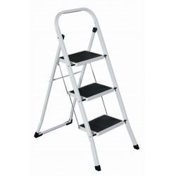 Σκάλα Μεταλλική Rubber Mat 3 Σκαλιά