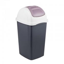 Κάδος πλαστικός απορριμμάτων FLIP BIN 65L