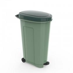 Καδος Πλαστικός Απορριμμάτων 95Lt Πράσινος