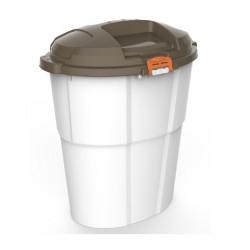 Κάδος πλαστικός DADO ECO 60L