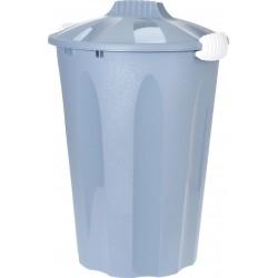 Κάδος πλαστικός απορριμμάτων ασφαλείας 40L