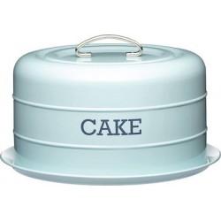 Πιατέλα Κέικ με καπάκι Γαλάζια Living Nostalgia KitchenCraft®