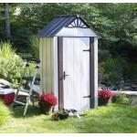 ΑΠΟΘΗΚΗ ΜΕΤΑΛΛΙΚΗ DESIGNER SERIES 4x2 ARROW Αποθήκευση Κήπου