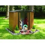 ΑΠΟΘΗΚΗ ΜΕΤΑΛΛΙΚΗ WOODLAKE 6x5 ARROW Αποθήκευση Κήπου