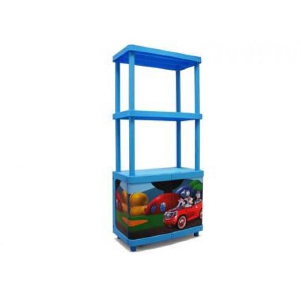 Ντουλάπι Πλαστικό με 2 Ράφια Disney Mickey Keter Παιδικά