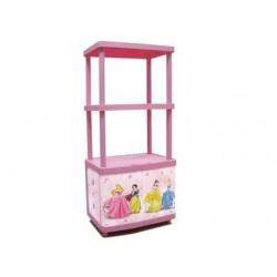 Ντουλάπι Πλαστικό με 2 Ράφια Disney Princess Keter