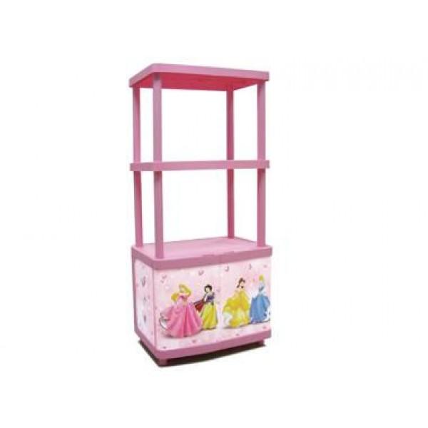 Ντουλάπι Πλαστικό με 2 Ράφια Disney Princess Keter Παιδικά