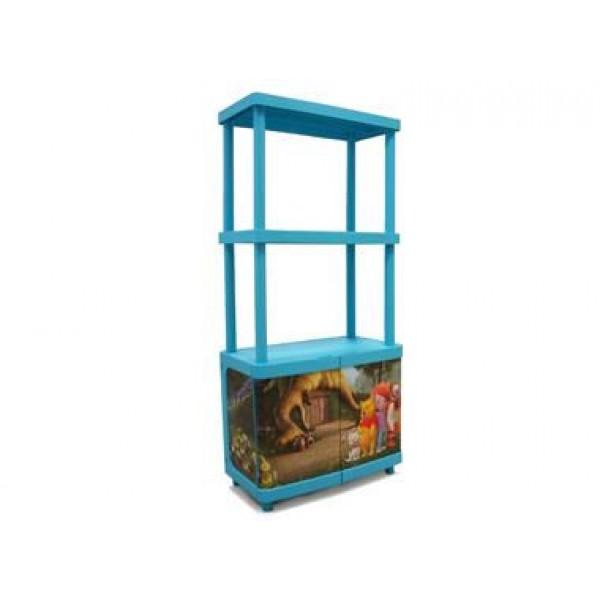 Ντουλάπι Πλαστικό με 2 Ράφια Disney Winnie Keter Παιδικά