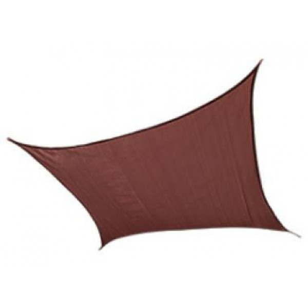 Shelterlogic Shade Sail Square 16x16 ft Σκίαση Κήπου